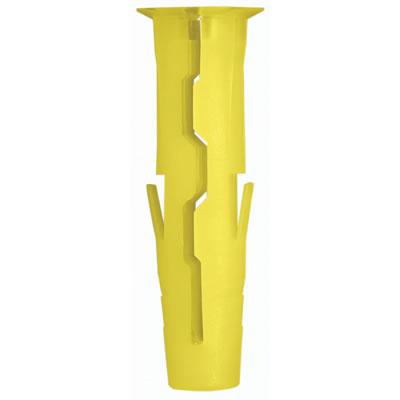 Rawlplug Uno Plug - Yellow - Pack 1000