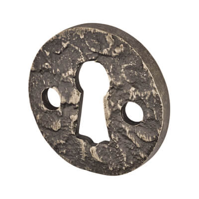 Louis Fraser Escutcheon - Keyhole - Antique Pewter