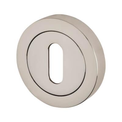 Reguitti Escutcheon - Keyhole - Polished Chrome)