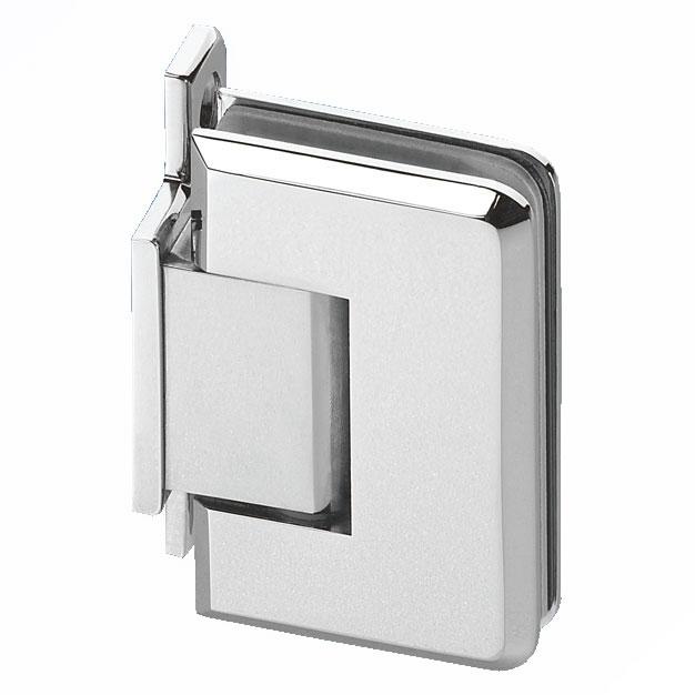 Wall Mount Shower Hinge - Single Sided - 6-8mm Glass)