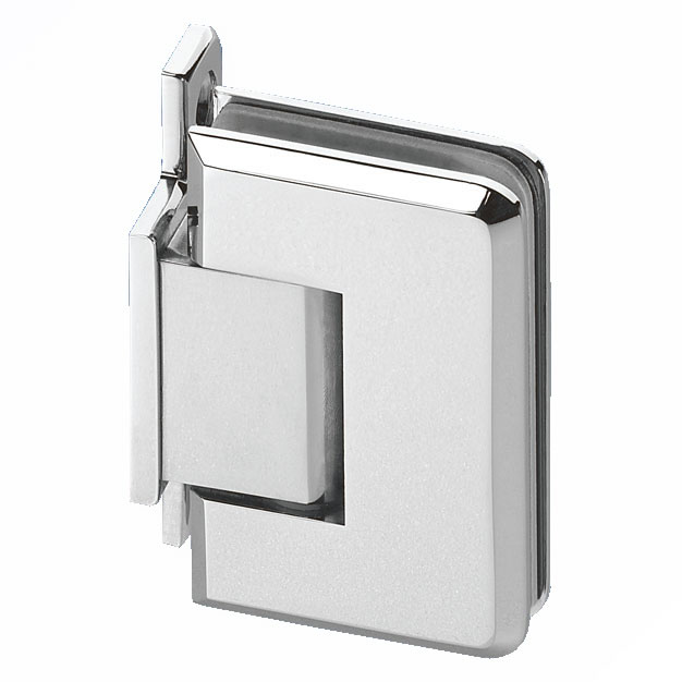 Wall Mount Shower Hinge - Single Sided - 6-8mm Glass