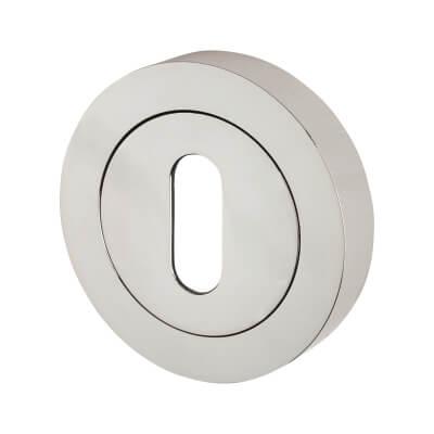 Touchpoint Escutcheon - Keyhole - Polished Chrome