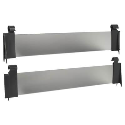 Motion Acrylic Hanging Panel - 400mm - Grey)