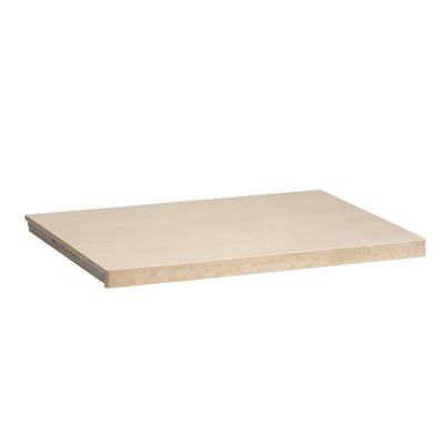 elfa® Solid Shelf - 605 x 437mm - Birch