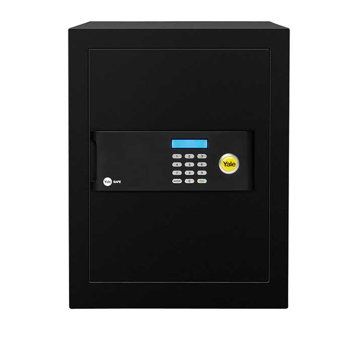 Yale® Office Safe - 400 x 350 x 340mm - Black)