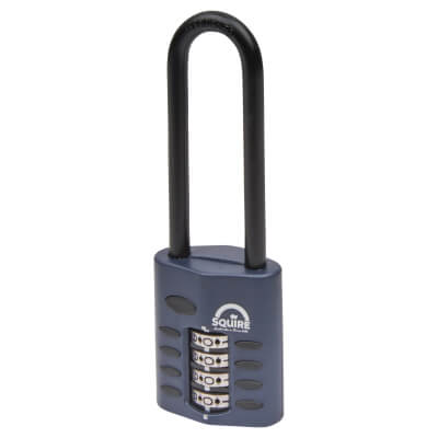 Squire Combi All Weather Padlock - 40mm - Extra Long Shackle