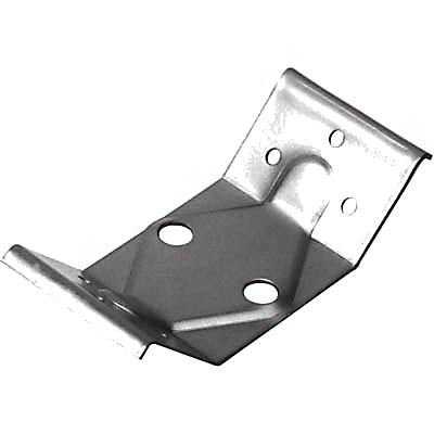 Steel Table Leg Plate - 126 x 57 x 40mm - Zinc Plated Steel - Pack 10)