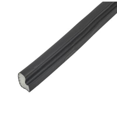 Schlegel Q-Lon 9154 Universal uPVC Window Replacement Seal - 10m - Black)