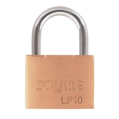 Squire Leopard Brass Padlock - 50mm