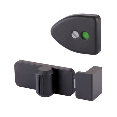 Designer Indicator Bolt - Black Textured - 12-13mm Panels