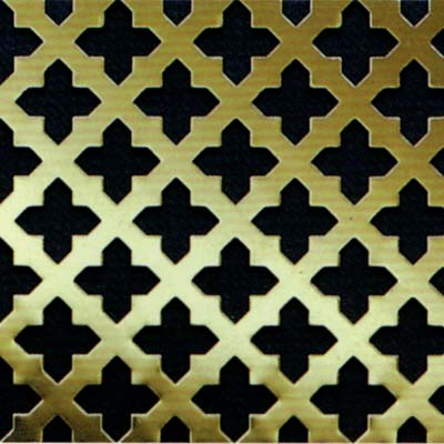 Perforated Brass Grille
