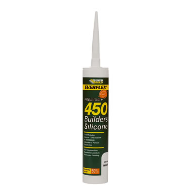 Everbuild Builders' Silicone - 310ml - Black)