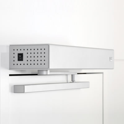 ED100LE Slide Channel Set - Pull Side - Silver)