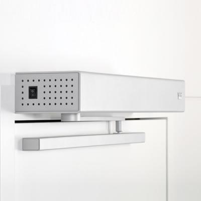ED100LE Slide Channel Set - Pull Side - Silver