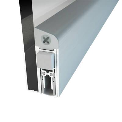Norsound Slide GS-A Glass Door Drop Seal - 833mm