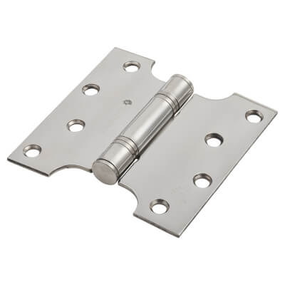 Enduro Max Parliament Hinge - 102 x 50 x 102 x 3mm - Polished Stainless Steel)