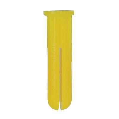 Rawlplug HDPE Plug - Yellow - Pack 1000