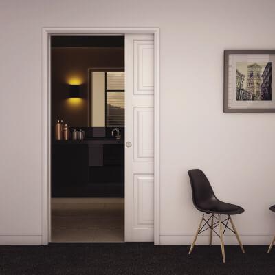 KLÜG Ultra Pocket Door Kit   120mm Finished Wall Thickness   915mm Maximum  Door Width