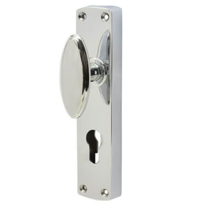 Jedo European Style Locking Espagnolette Bolt - Polished Chrome