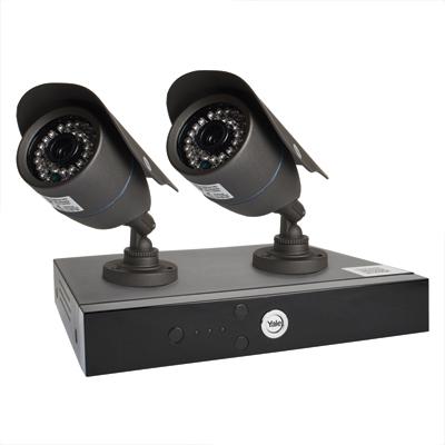 Yale® Smart HD720 2 Camera CCTV Kit)