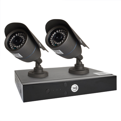 Yale® Smart HD720 2 Camera CCTV Kit