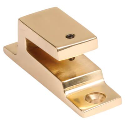 Hampstead Long Locking Keep - Polished Brass)