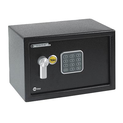 Yale® Compact Safe - 200 x 310 x 200mm - Black)