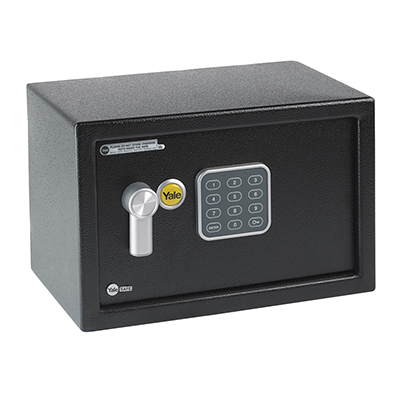 Yale® Compact Safe - 200 x 310 x 200mm - Black)