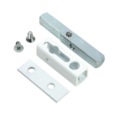 Rola Metal Casement Window Lock - White)