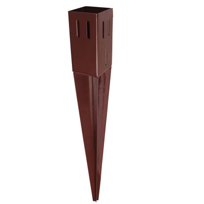 Powapost® Drive-In Fence Post Spike - Easy Grip - 75mm
