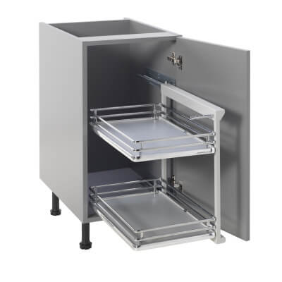 Base Pull Out Plus with Soft Close - Right Hand - Cabinet Width 300mm