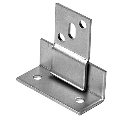 Secret Panel Fixing - 48 x 20 x 20 x 25 x 45mm - Zinc Plated Steel - Pack 10)