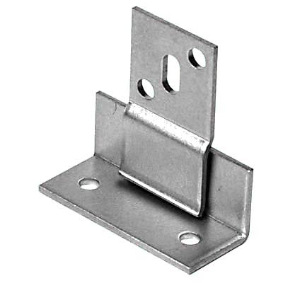 Secret Panel Fixing - 48 x 20 x 20 x 25 x 45mm - Zinc Plated Steel - Pack 10)