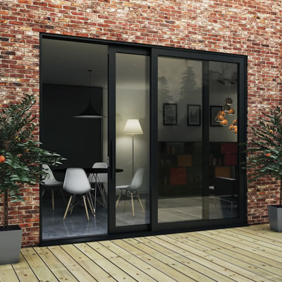 Vistaslide Single Patio Door Kit