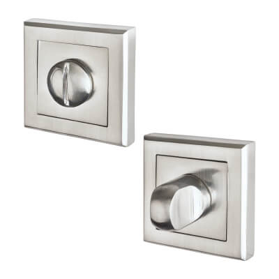 Morello Escutcheon - Turn & Release - Satin Chrome