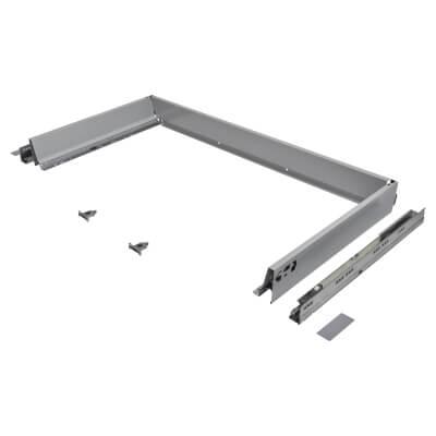 Blum TANDEMBOX ANTARO Drawer Pack - BLUMOTION Soft Close - (H) 84mm x (D) 450mm x (W) 1000mm - Grey)