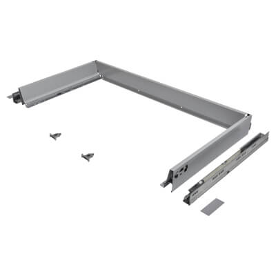 Blum TANDEMBOX ANTARO Drawer Pack - BLUMOTION Soft Close - (H) 84mm x (D) 450mm x (W) 1000mm - Grey