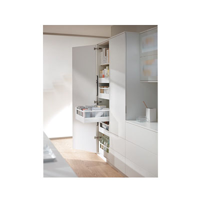 Blum Frosted Glass Panels - Suit Tandembox Antaro Pan Drawer - (H) 206mm x (D) 500mm