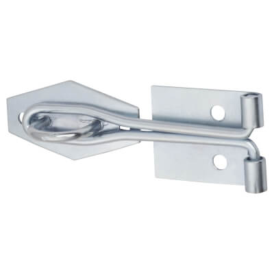 Light Duty Wire Hasp & Staple - 100mm