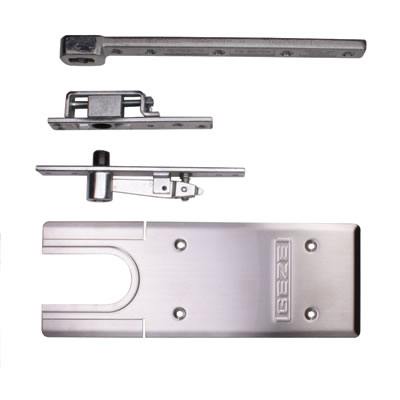 GEZE TS500NV Accessory Pack - Double Action - Satin Stainless Steel
