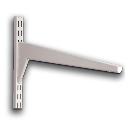 elfa® Reinforced Bracket - 570mm - White)