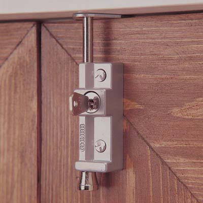 Yale® 8K116 Multi Purpose Locking Bolt - Silver Grey