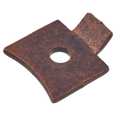 ION Standard Flat Bookcase Clip - Bronze Plated - Pack 10