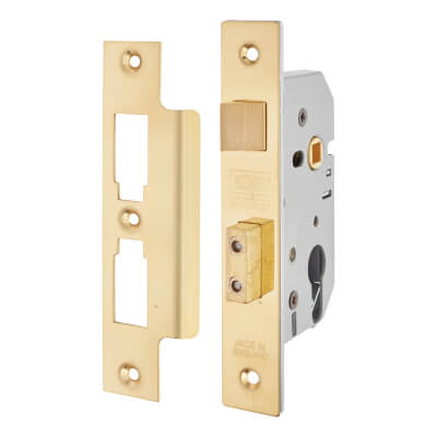 UNION® 2249 Euro Sashlock - 77.5mm Case - 57mm Backset - Brass