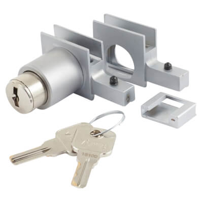 Supra Lock and Key Kit - Keyed to Differ - 6-8mm Glass Doors