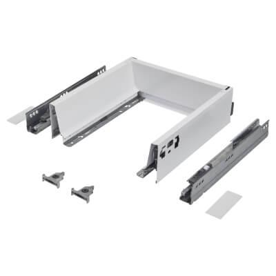Blum TANDEMBOX ANTARO Drawer Pack - BLUMOTION Soft Close - (H) 84mm x (D) 270mm x (W) 300mm - White
