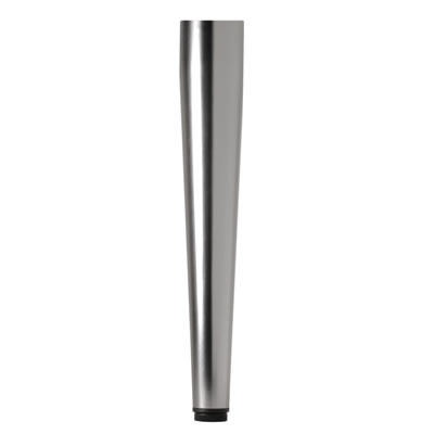 Tapered Table Leg - 60 x 710mm - Chrome)