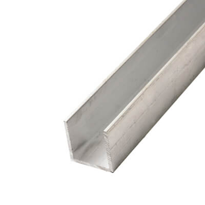 2000mm Channel - 10 x 10 x 1.6mm - Aluminium