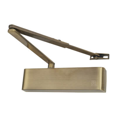 Rutland® TS9205 Door Closer - Antique Brass)