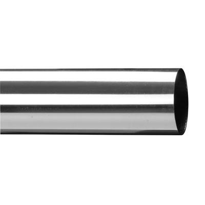 Easi-Rail 40mm Handrail System - 40 x 2400mm Tube - Polished Chrome